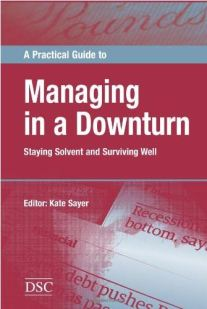 Managing in a Downturn front cover