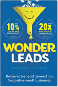 Cover of Wonder Leads by Dave Holloway